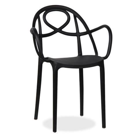 sedie designer famosi resistente alle intemperie colore bianco o nero moderna