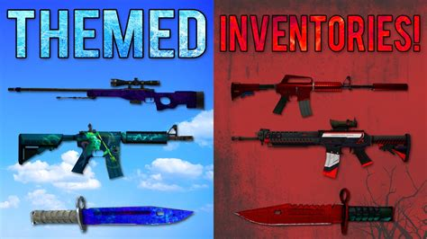 best themed cs go skins best themed inventories