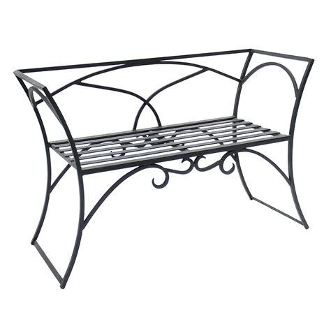 metal arbor with bench arbor bench with back hearth home garden accessories