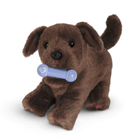 american doll puppy american my ag chocolate lab puppy for 18 quot dolls pet brown bone new ebay