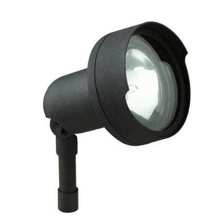 Intermatic Landscape Lighting Intermatic 50w Metal Landscape Light With 50w Par36 L Flat Black Power Coat Finish Adjustable