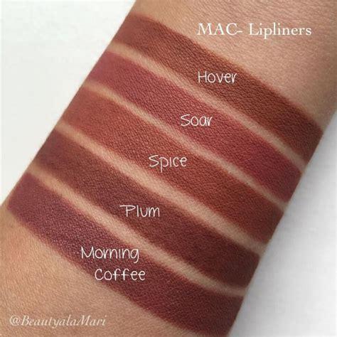 Mac Eye Lip Liner Pencil mac lip pencil swatches by beautyalamari make up