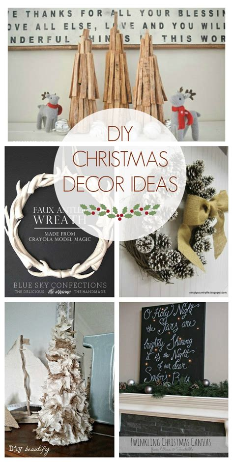 christmas diy home decor diy christmas decor ideas the golden sycamore