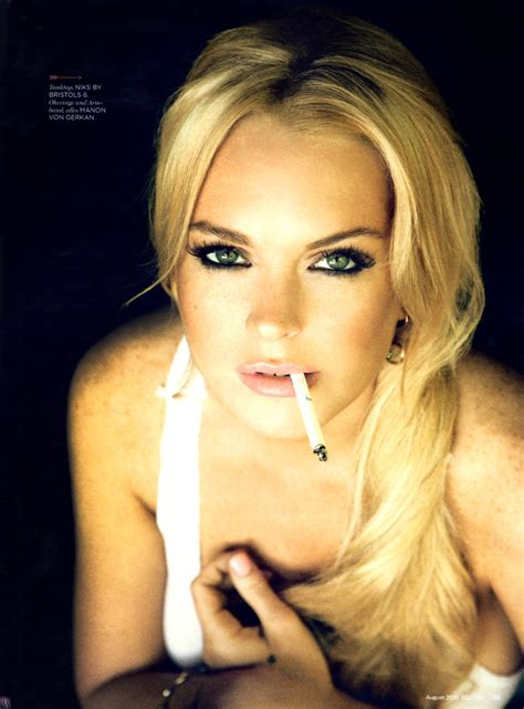Lindsay In Gq by Upkeep The Ape Lindsay Lohan Gq Germany August 2010