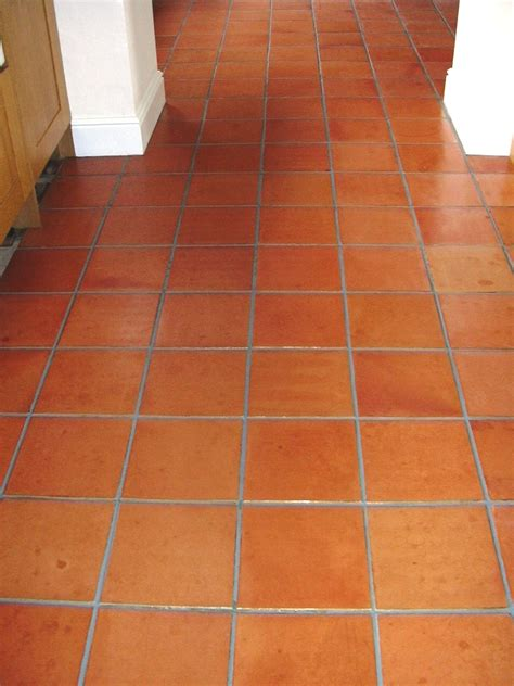 Kitchen Design Cheshire by Terracotta Floor In Prestbury Cheshire Cleaned Sealed And Grout Recoloured Tile Amp Stone Medic