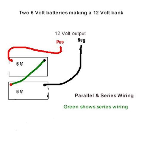 wiring 12v batteries in series and parallel wiring get