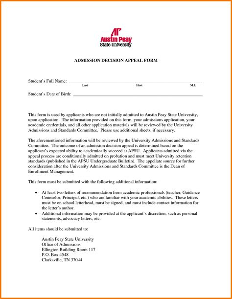 College Letter To appeal letter for college russianbridesglobal