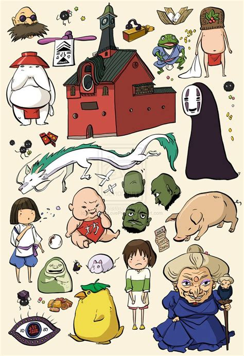8 Amazing Studio Ghibli by Best 25 Studio Ghibli Characters Ideas On