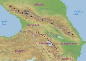 map of caucasus why are white called caucasian mental floss