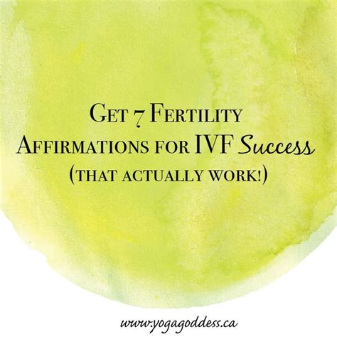 success affirmations 52 weeks for living a and purposeful books fertility affirmations for ivf success that