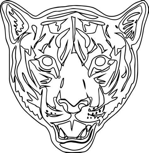 tiger mask coloring page new tiger mask coloring page wecoloringpage