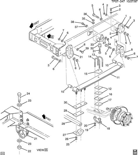 steering suspension diagram gmc topkick steering column diagram gmc free engine