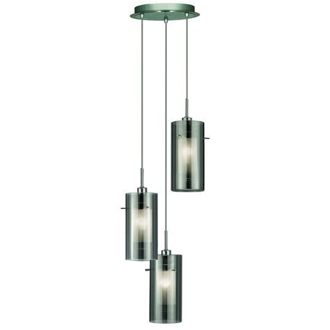 2300 3sm glass mulit drop ceiling light