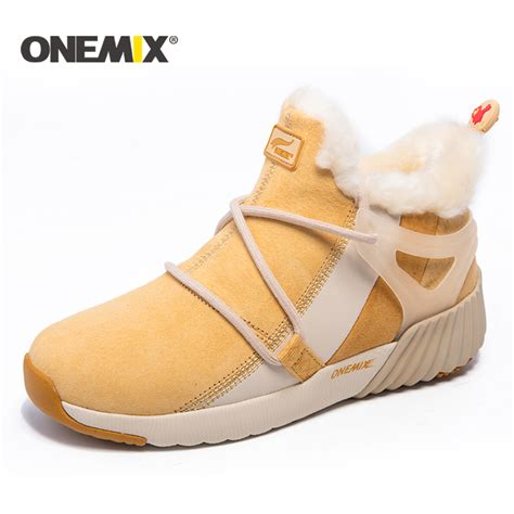 winter athletic shoes onemix new winter running shoes for comfortable