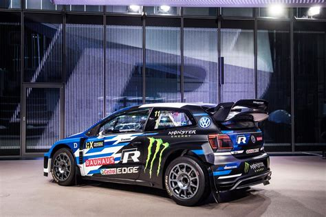 volkswagen wrx worldrx presentata la volkswagen polo wrx rallyssimo