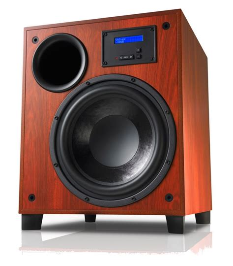 Speaker The Real Subwoofer krix tektonix subwoofer in real timber veneer speakers