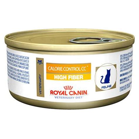 sle of high fiber diet royal canin veterinary diet calorie high fiber canned cat food petcarerx