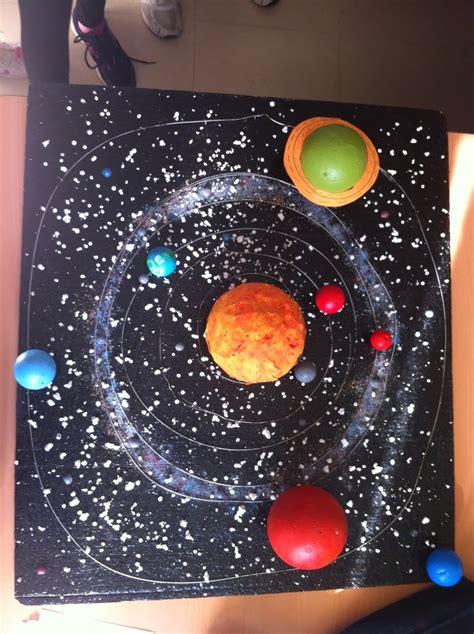 sistema solar con material reciclado la ciencia de la vida maquetas del sistema solar 2013