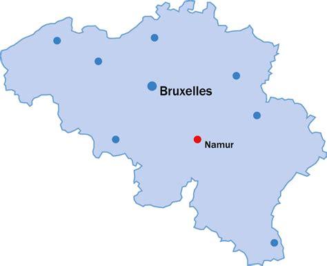 carte de belgique namur voyages cartes