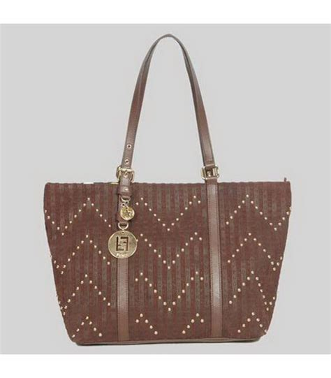 fendi coffee bag diskon fendi tote bag coffee scrubing leather replica handbags