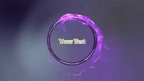Ring Intro Template Remake For Avs Video Editor Hd Youtube Intro Template Editor