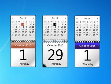 Calendar Desktop Gadget Windows 7 Original Calendar Windows 7 Desktop Gadget