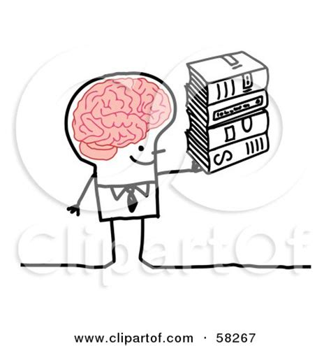 brain with lightbulb clipart clipartfest image gallery smart stickman