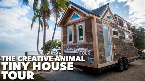 tiny house tour new addition youtube the creative animal tiny house tour youtube