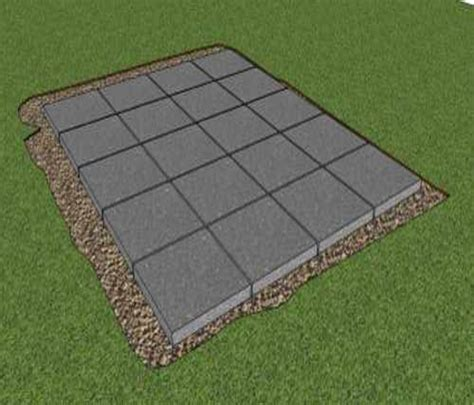 Cheap Shed Foundation by Patio Flooring Options Cheap Outdoor Patio Flooring Ideas