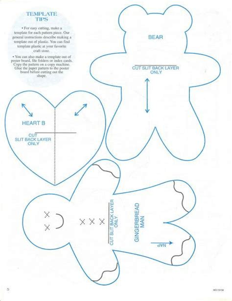 felt gingerbread template ornaments templates gingerbread and