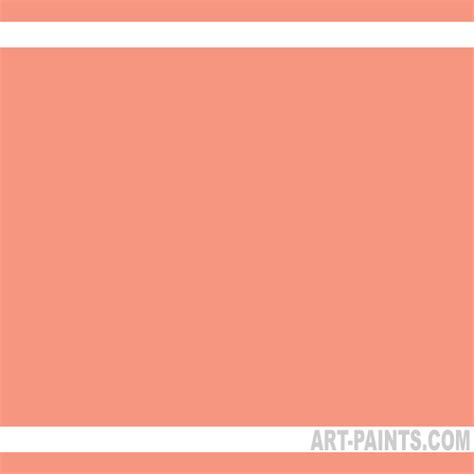 salmon neopastel 24 set pastel paints 051 salmon paint salmon color caran dache neopastel