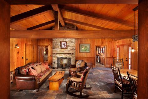 Fabulous Knotty Pine Paneling decorating ideas for Family
