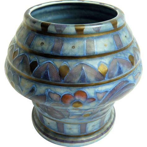 Crown Ducal Vase by Rhead Crown Ducal Vase Shape 214 From