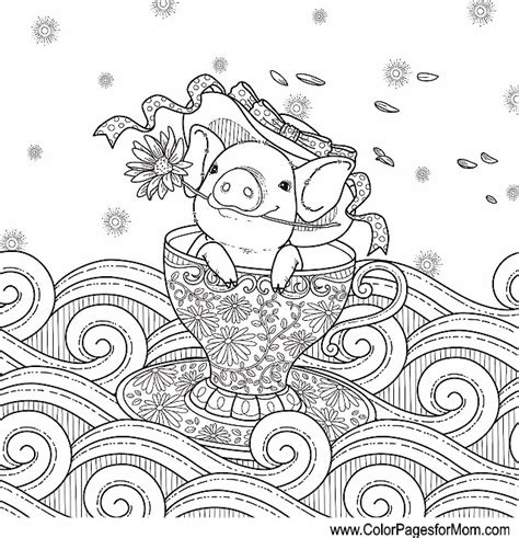 Whimsical Holiday Coloring Pages Coloring Pages Whimsical Tree Coloring Page