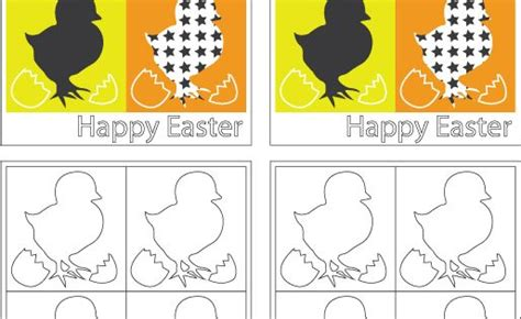 Easter Card Templates Twinkl by Easter Free Template For Doodling And Card