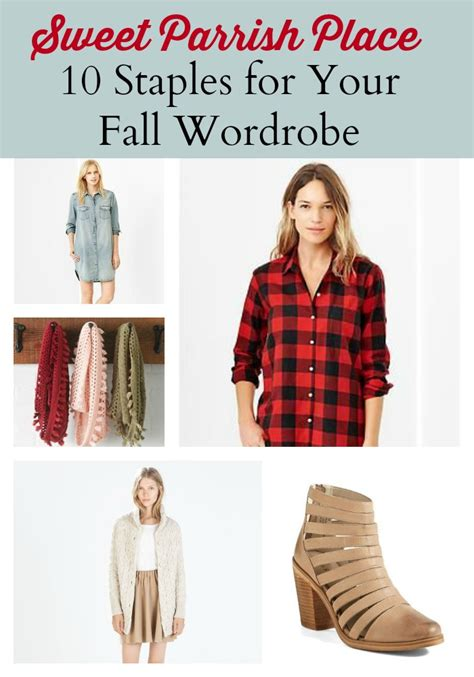 staples needed for hip wardrobe 2014 10 staples for your fall wardrobe sweet parrish place