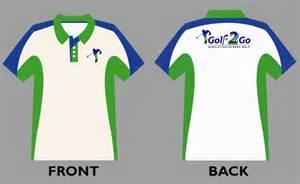 Polo Design Template by Vector Polo Shirt Design Template For Golf2go Golfer