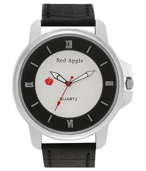 red apple black wrist watch price in india buy red apple