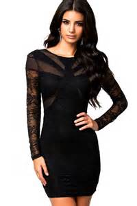 this is a very beautiful dress a black lace bodycon dress