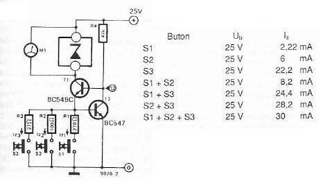 zener diode tester circuit diagram zener diode tester electronic project circuit design