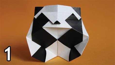 Panda Origami - origami panda rom 225 n d 237 az part 1
