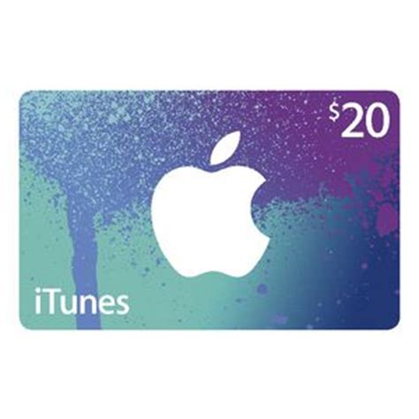 Trade Apple Store Gift Card For Itunes - apple itunes card 20 officeworks