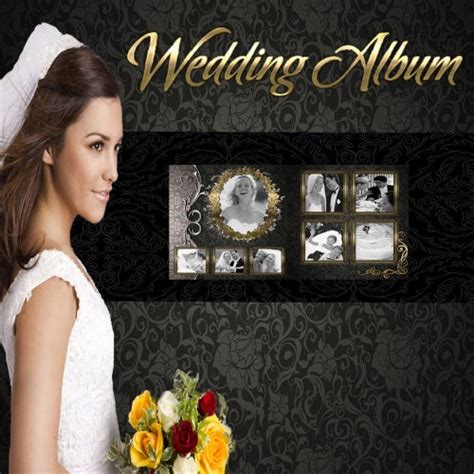 photoshop wedding album templates wedding photo book templates