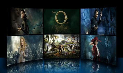 microsoft movie themes windows 7 themes oz the great and powerful theme for
