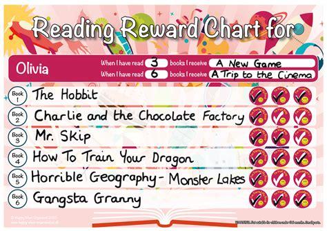 reading reward chart    years quality uk products