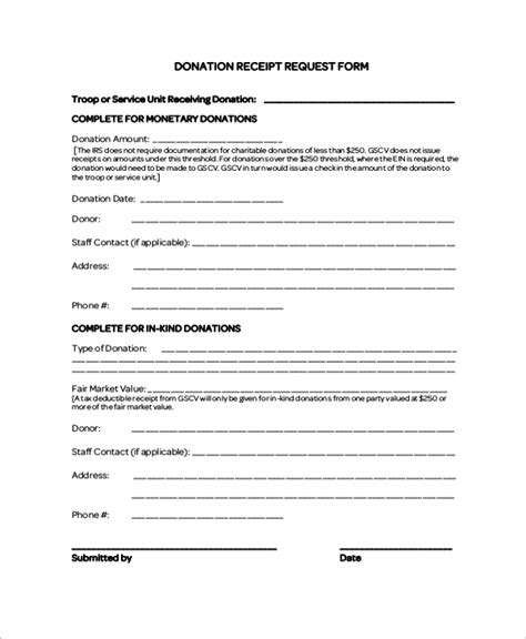 charitable acknowledgement letter requirements 8 sle donation receipt letters sle templates
