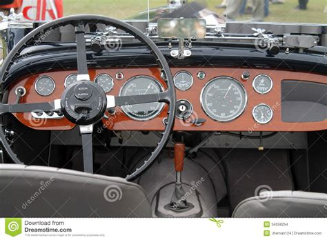 aston martin dashboard antique aston martin gauges editorial stock image image