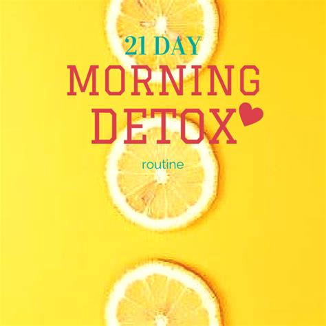 21 Day Lemon Detox by 21 Day Morning Detox Rarolae