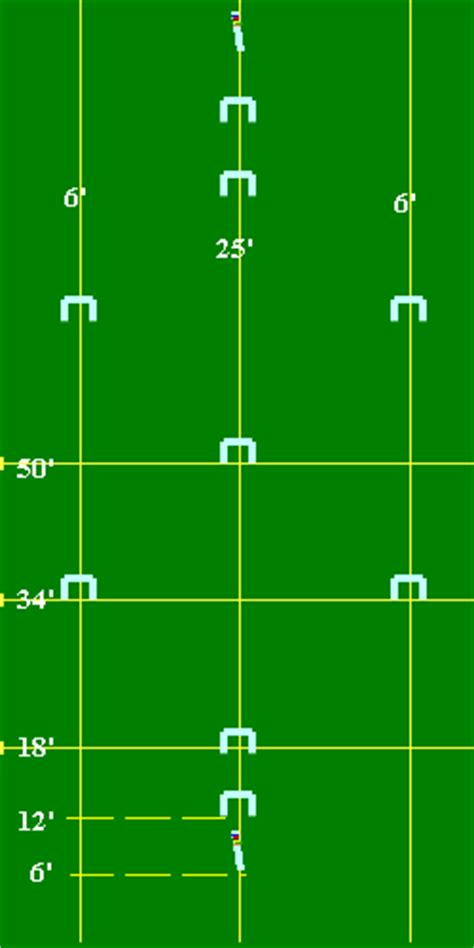 layout for croquet game croquet pitch so i will remember how to set the yard