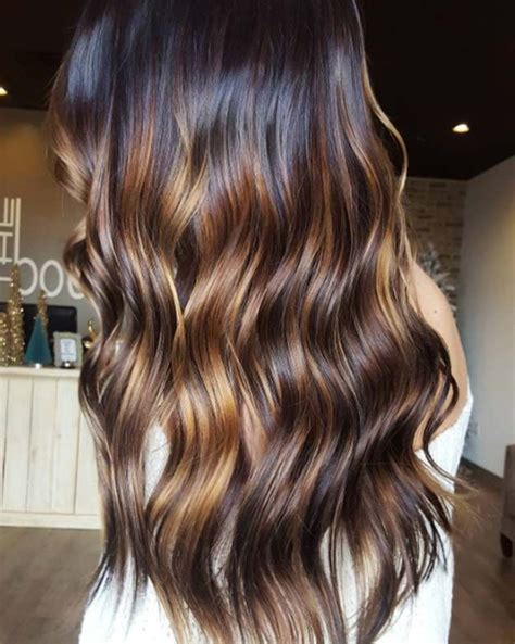 diy ombre hair for dark brunettes step by step 78 meilleures id 233 es 224 propos de balayage contraste sur